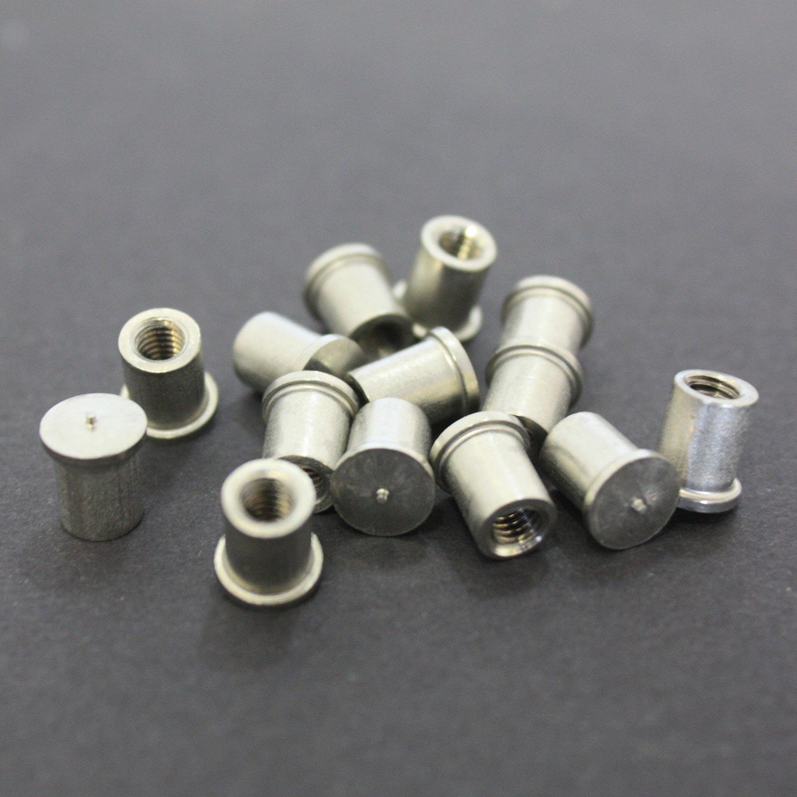 27 mm Innendurchmesser 1 53 mm Innenh/öhe T316 Edelstahl Packungsgr/ö/ße U-Bolzen M6 x25mm Gewinde
